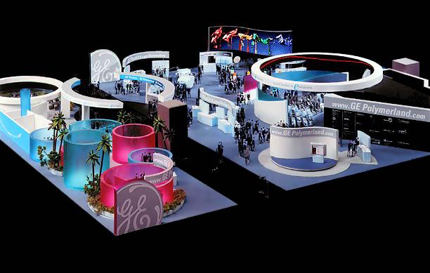 GE Plastics exhibit model, NPE